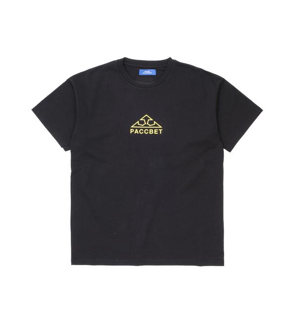 167cf40a Rassvet Large Logo Print T-Shirt Black
