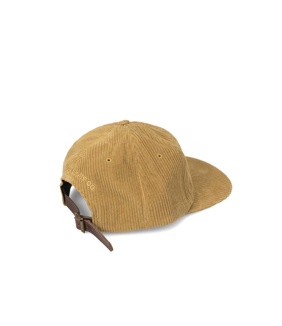 bb2e3b05284 Polar. Polar Skate Co Fat Corduroy Cap Golden Brown