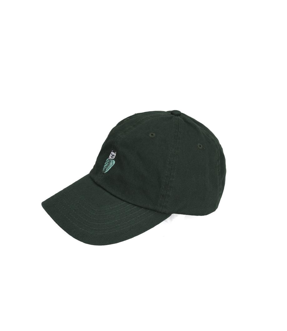 d3d3201cc06f8 Ripndip. Ripndip Nermal Leaf Dad Hat Forest