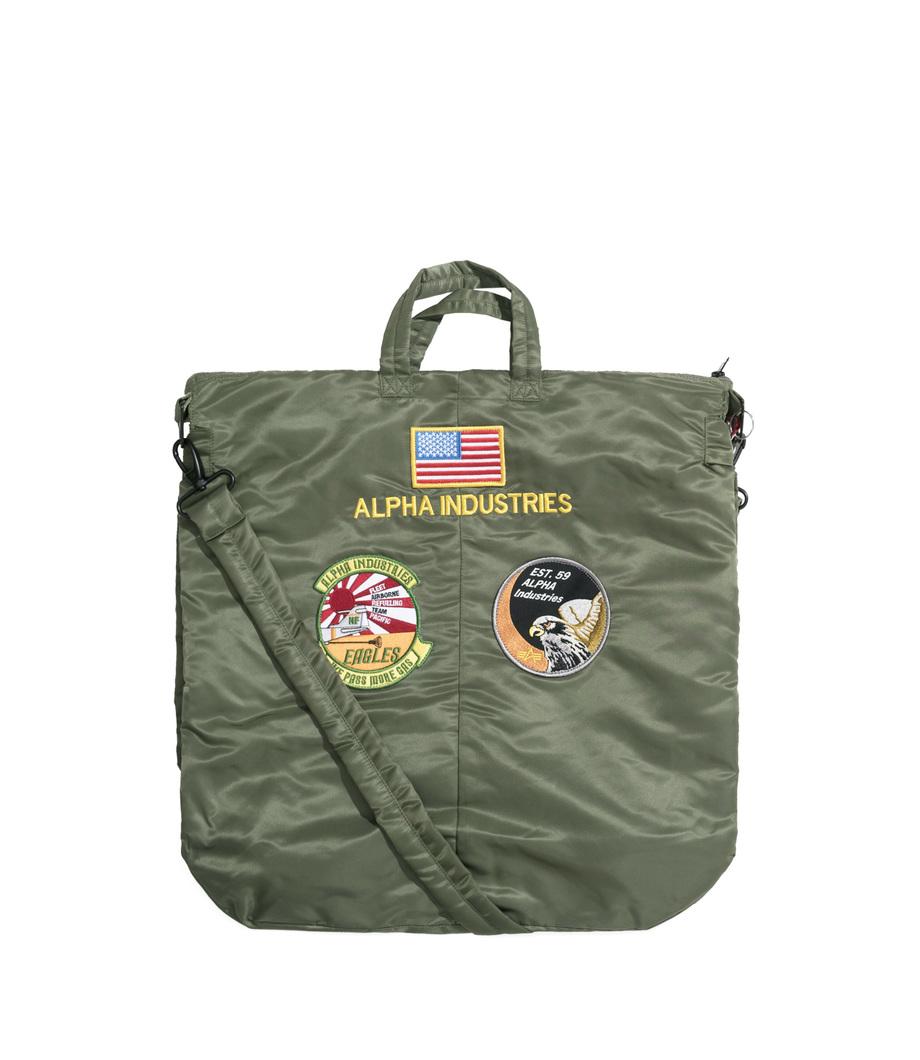 Alpha Industries Helmet Bag Sage Green