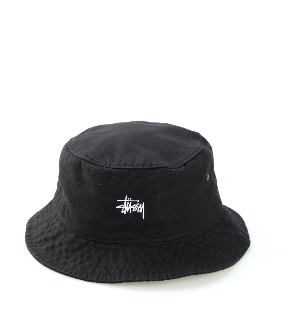 c04134a7367 Stussy. Stussy Smooth Crusher Bucket Hat Black