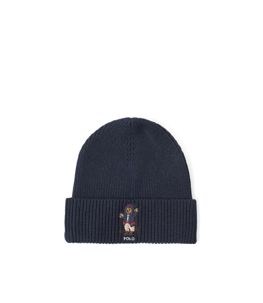 9. Ralph Lauren Bear Hat Hunter Navy d1ffd0498224