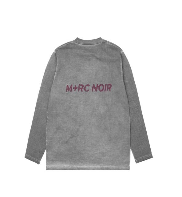 58616b6127a6 M+RC Noir BWND LS T-Shirt Grey