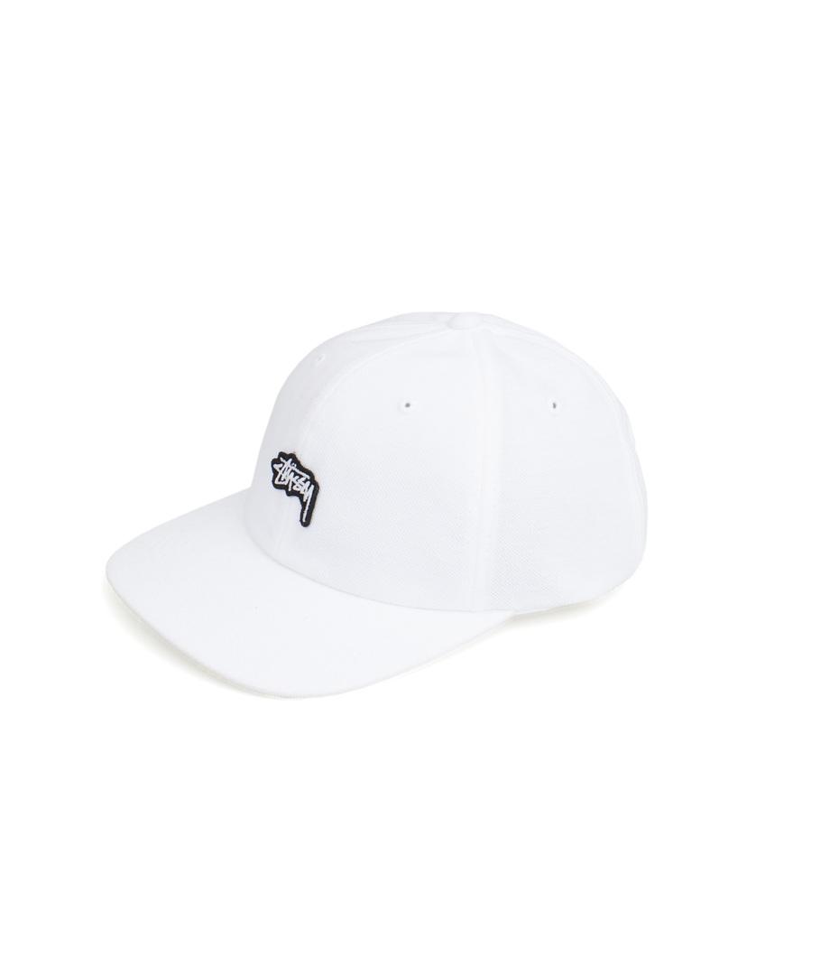 Stussy. Stussy Stock Pique Cap White 44f5f77597e