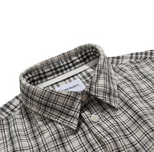 3142e93f90a ... Shirts  Norse Projects Anton Cotton Linen Check Ecru. Previous