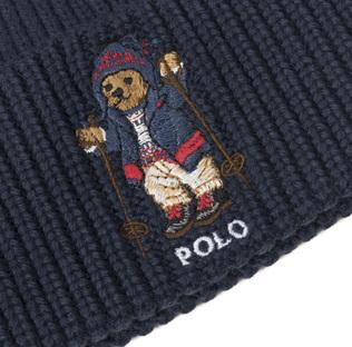 Ralph Lauren Bear Hat Hunter Navy 442c21f9fc5e