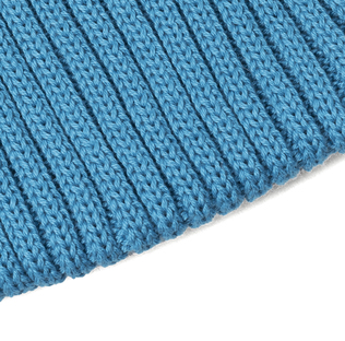 3036d97f41a Universal Works Watch Cap Cotton Knit Niagara Blue