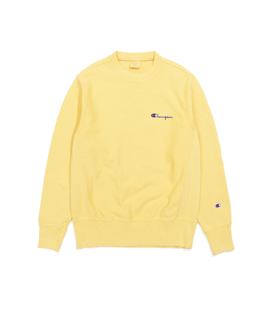 Yellow Champion Sweatshirt - Baggage Clothing