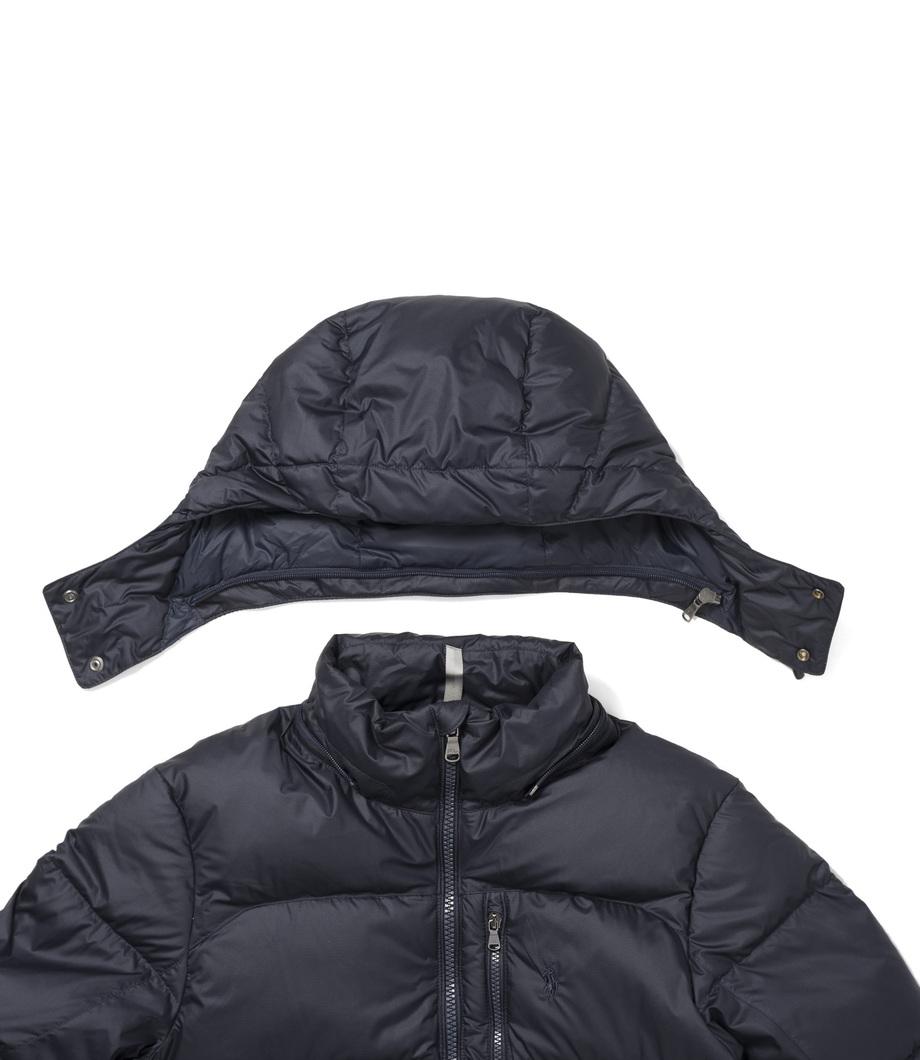 ralph lauren ec cap jacket college navy. Black Bedroom Furniture Sets. Home Design Ideas