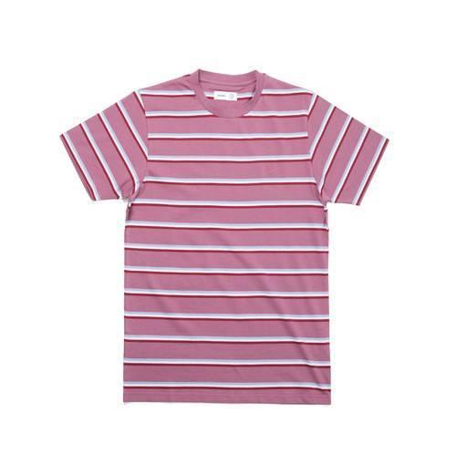 52d1cf4dd1 Très Bien x Polar Skate Co Striped Tee Dusty Rose