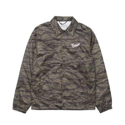 najnowszy kup najlepiej na stopach o Shop Carhartt Strike Coach Jacket Camo Tiger at ITK online store