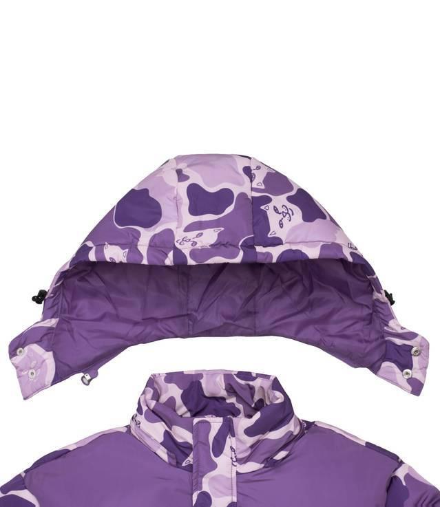 a289c981f008a Ripndip Nerm Camo Puffer Jacket Purple Camo